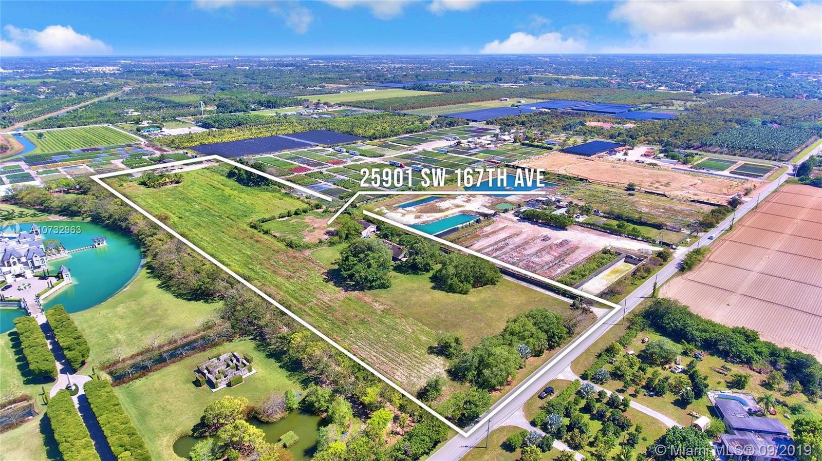 25901 SW 167th Ave  For Sale A10732963, FL
