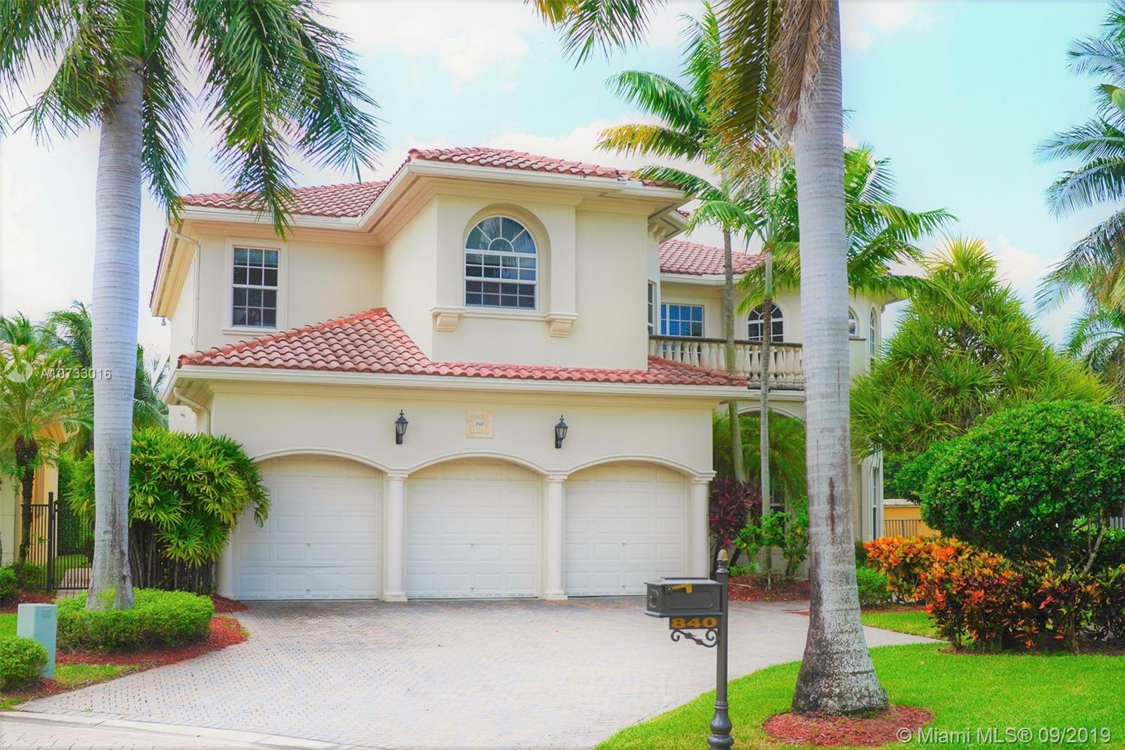 840  Beacon Ct  For Sale A10733016, FL