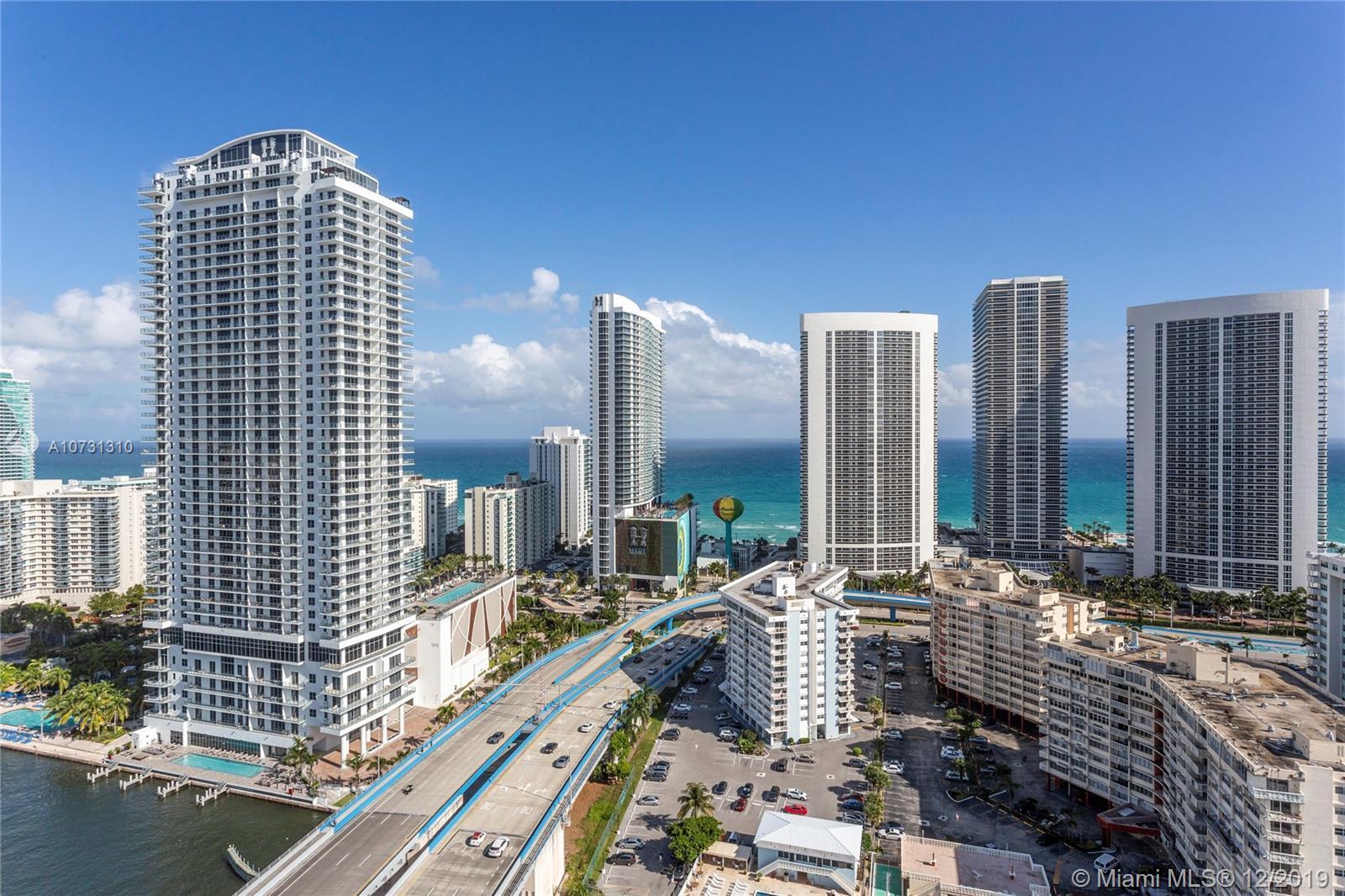2600 E Hallandale Beach Blvd #T2801 For Sale A10731310, FL
