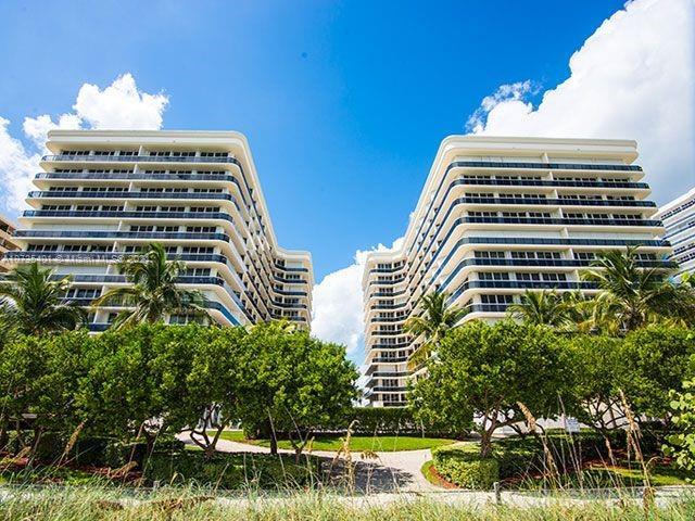 Beautiful rarely available Penthouse with direct 180 degree Bayviews in upscale Solimar. One block from the Bal Harbour Shops and with close proximity to the Four Seasons/Surf Club hotel and the St. Regis. Oceanfront building. Private Elevator direct to the unit only.  Building has all services available including beach & pool services, Gym and valet. 24 hour security along with closed circuit monitors. House of worship, shops, restaurants and Publix are walking distance.  Do not miss this opportunity.