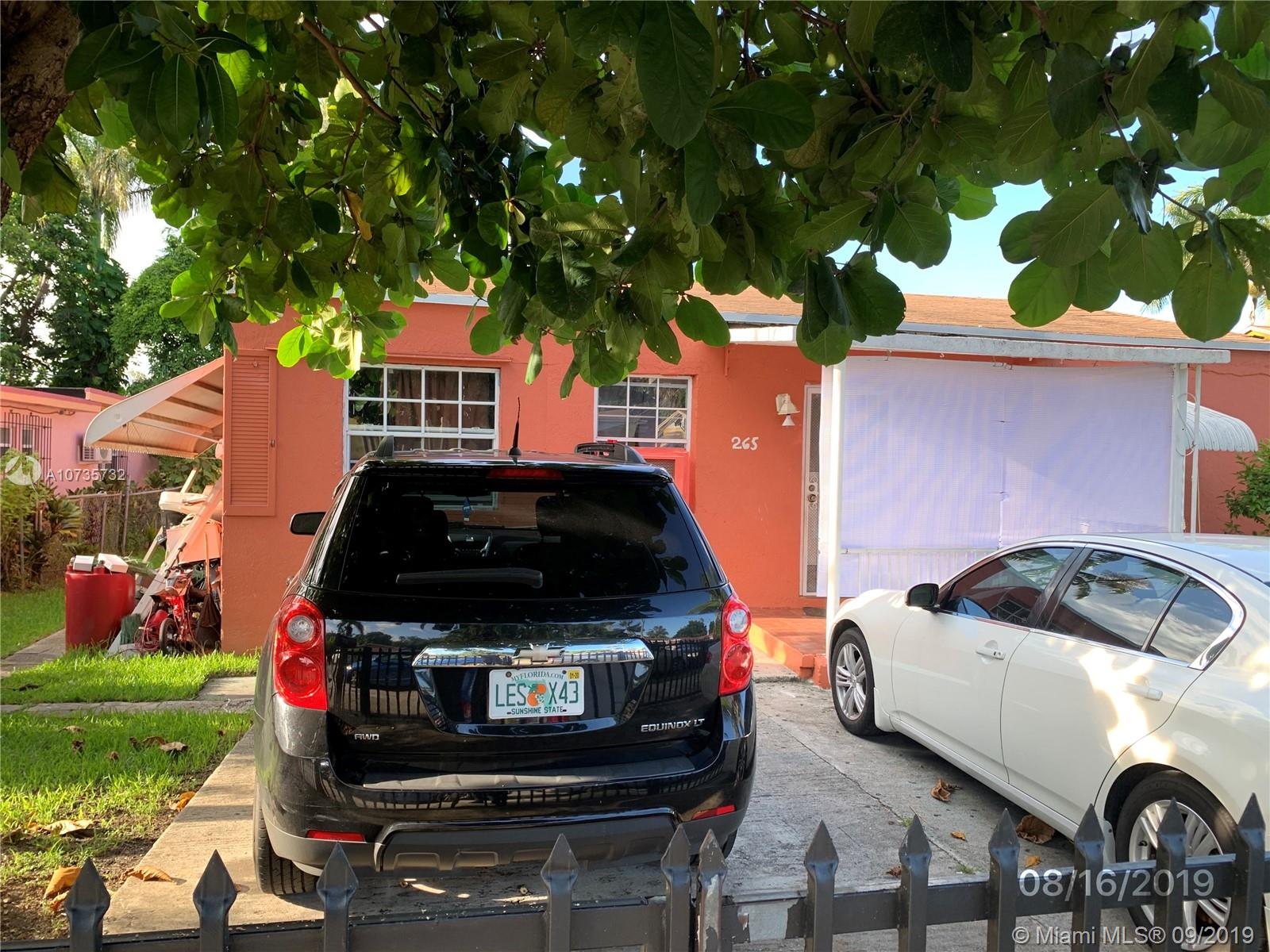 265 NW 82nd Ter  For Sale A10735732, FL