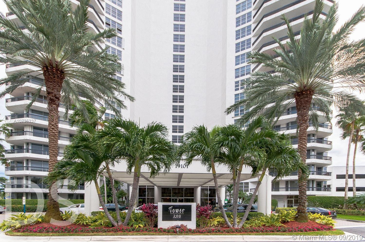 19101  Mystic Pointe Dr #2107 For Sale A10736237, FL