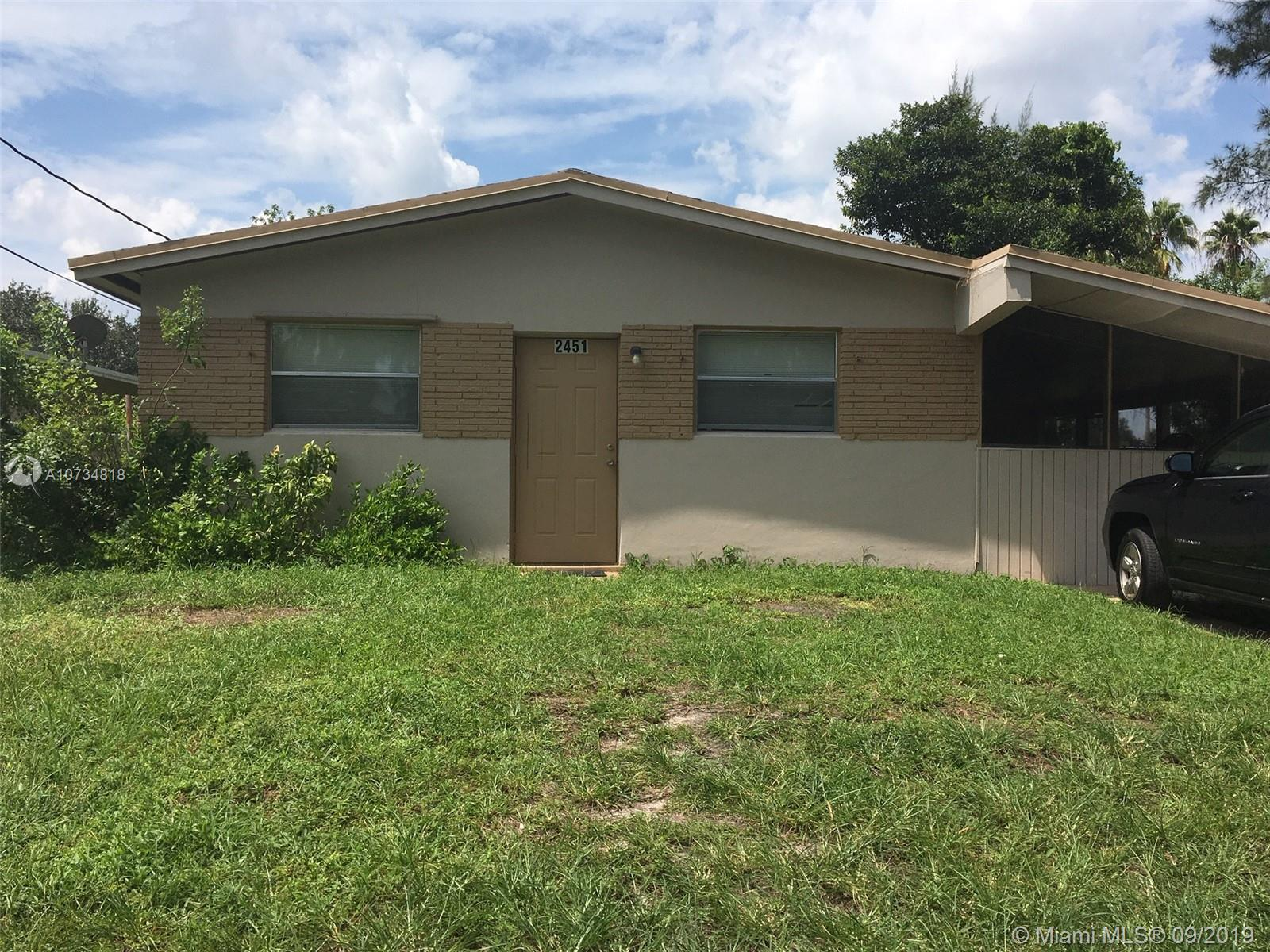 2451 NW 23rd Ln  For Sale A10734818, FL