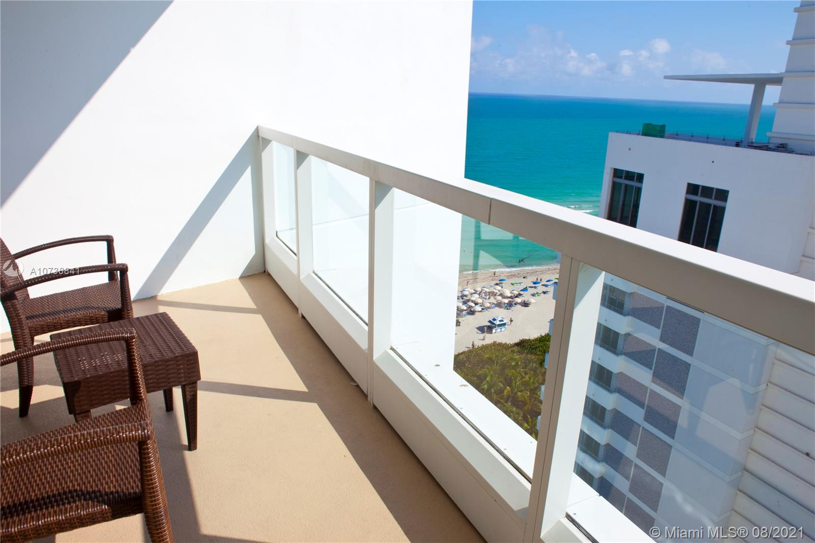 JR SUITE OVERLOOKING TO THE OCEAN AND CITY. BEST SUNSET VIEWS. VACATION STYLE LIVING - KING SIZE BED,SOFA-BED , KITCHENETTE, LARGE BALCONY . FIVE STAR SERVICE OF FONTAINEBLEAU HOTEL, LUXURY AMENITIES , POOLS, SPA,FITNESS CENTER, KIDS PLAY AREA, RESTAURANTS, NIGHT CLUB AND MUCH MORE. COMPLIMANTARY BREKFAST,AC,ELECTRICITY,PHONE,VALET PARKING-INCLUDED IN MONTHLY MAINTANANCE FEE. GREAT INVESTMENT OPPORTUNITY, UNIT ENROLLED IN HOTEL RENTAL PROGRAM.