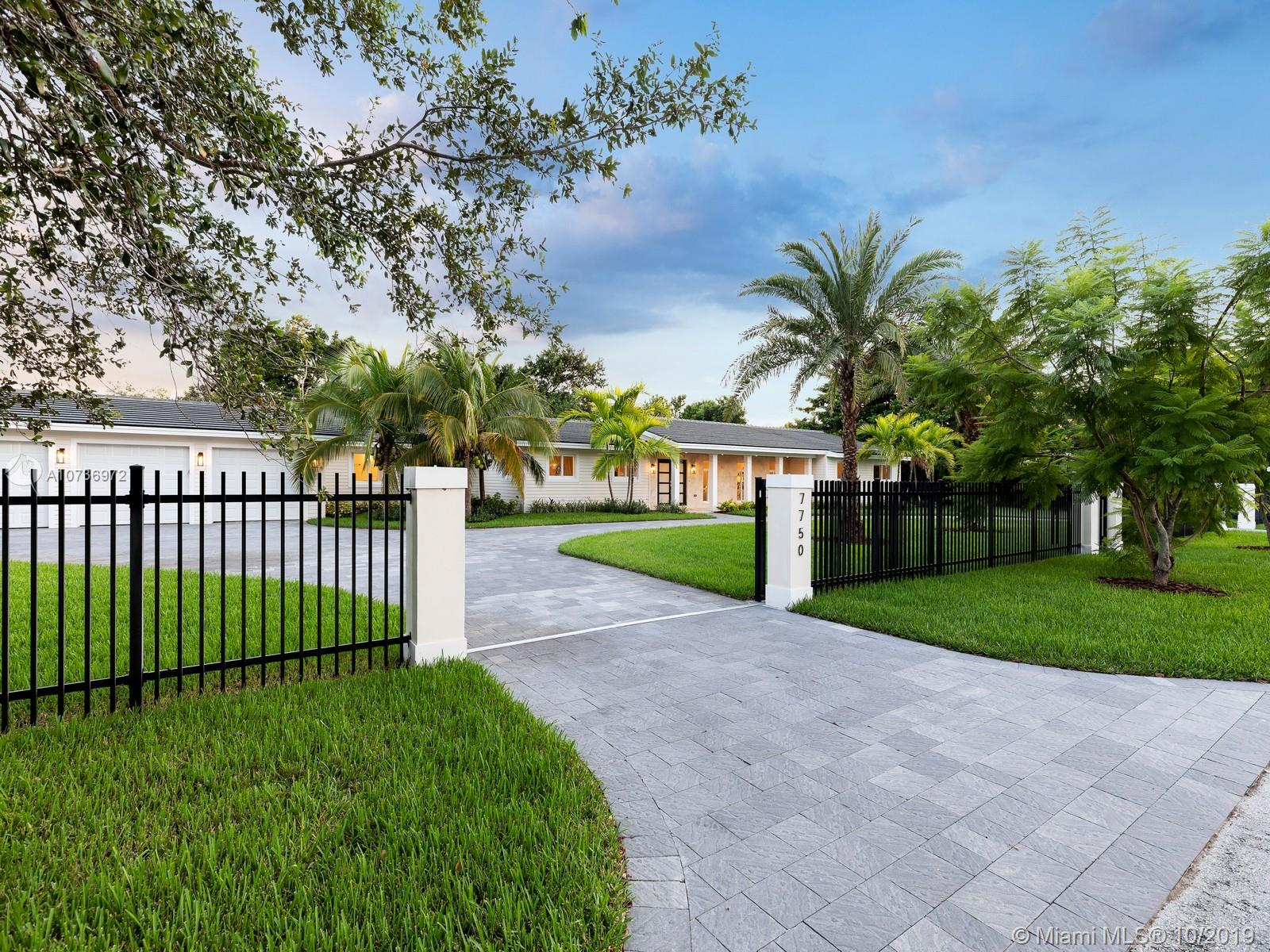 7750 SW 122nd St  For Sale A10736972, FL