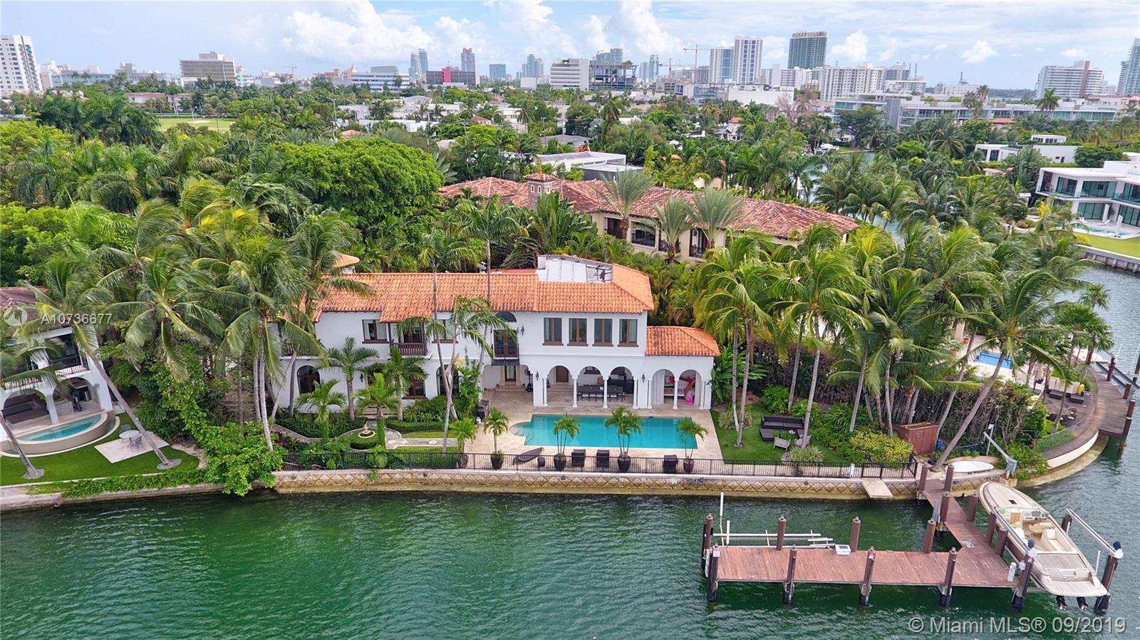 2050 N Bay Rd  For Sale A10736677, FL