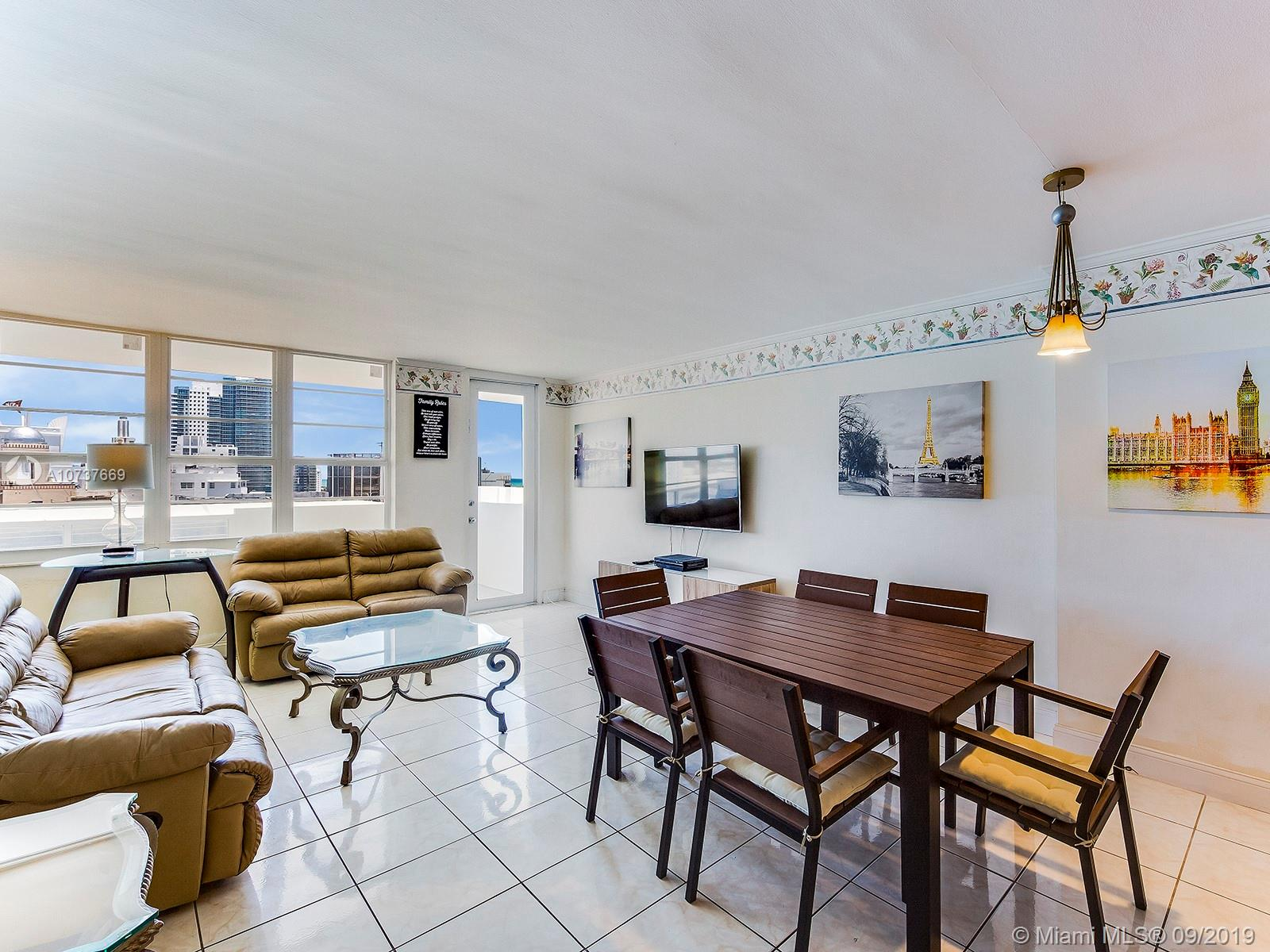 100  Lincoln Rd #1608 For Sale A10737669, FL