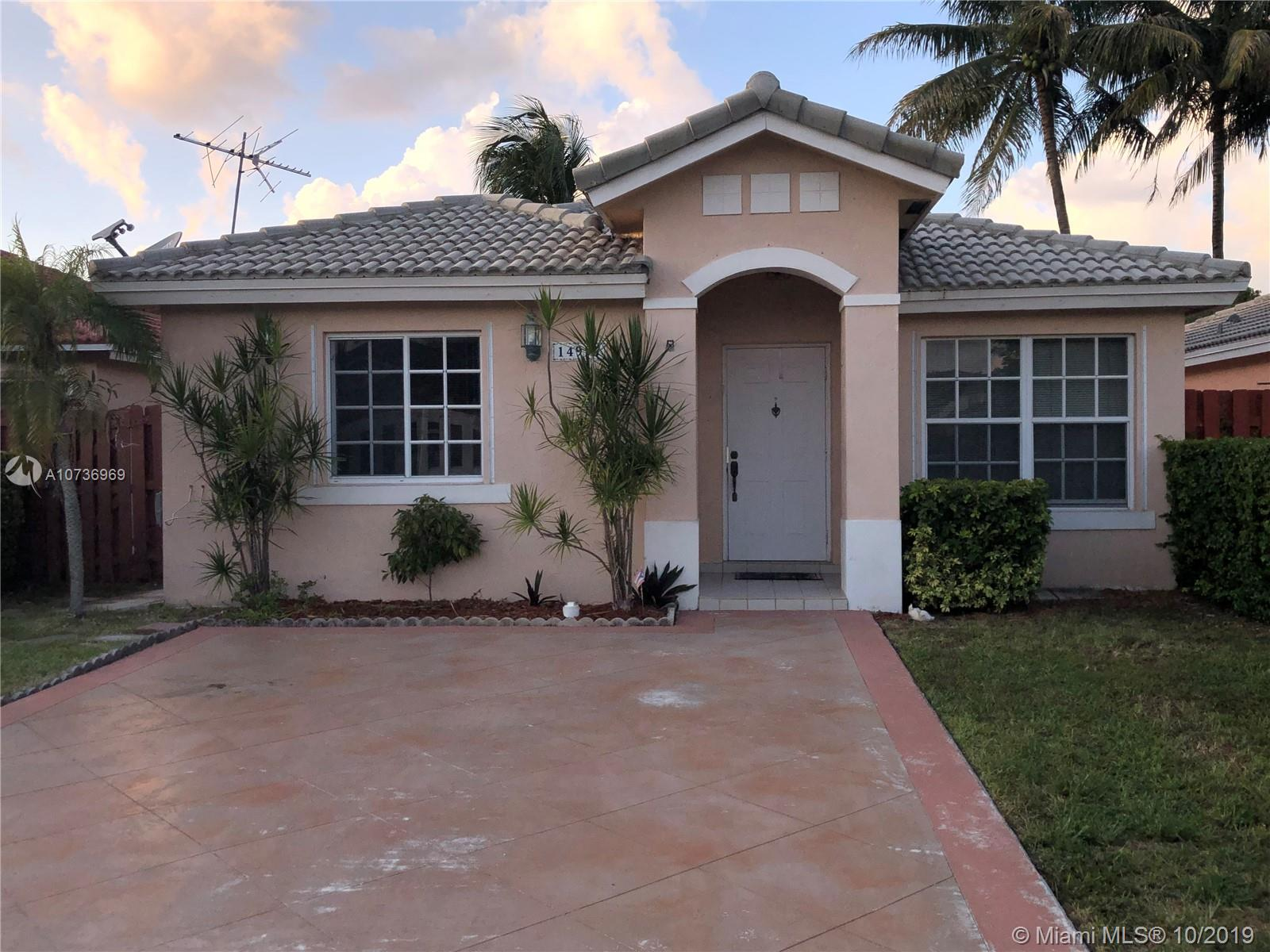 14997 SW 140th Ter  For Sale A10736969, FL