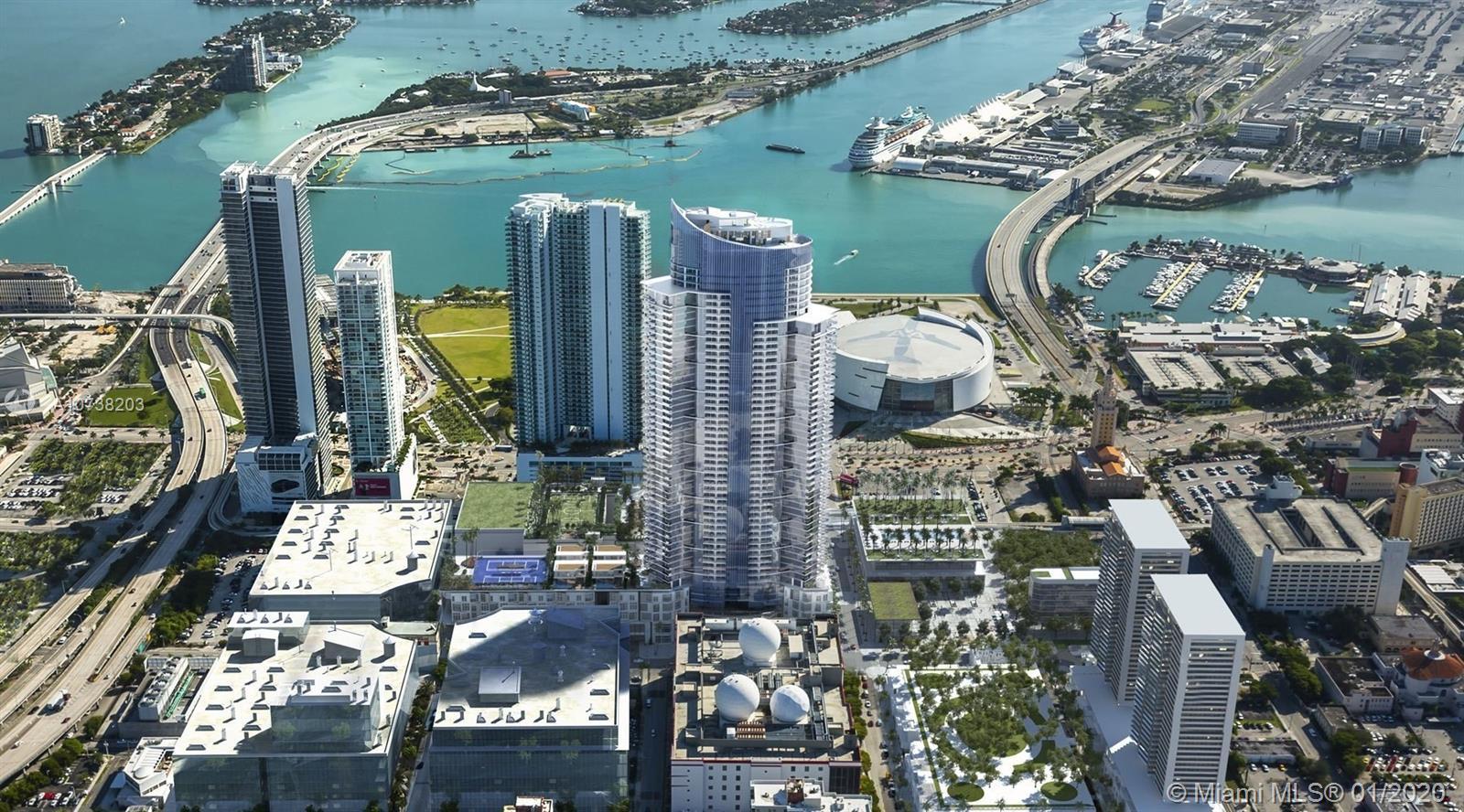 851 NE 1st 1407, Miami, FL 33131