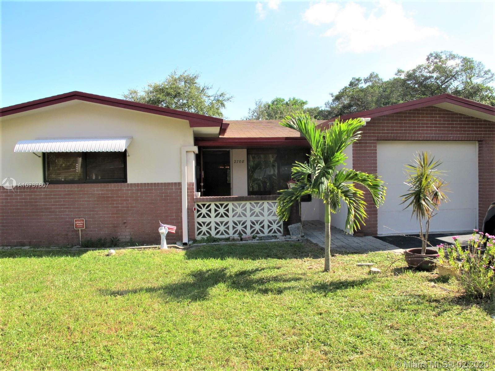 2708  Taylor St  For Sale A10737607, FL