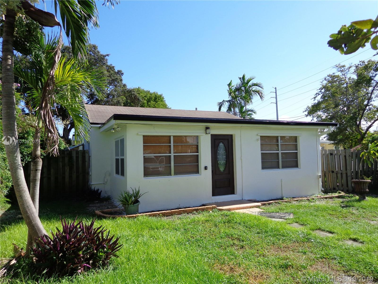 Great property for 1st time owner or investor. Home sits on a huge lot, with plenty of parking space. Located within 1 mile from the ocean, and minutes from the FT Lauderdale airport. This is a real gem in the heart of Dania Beach.