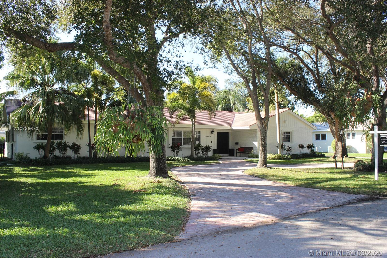 13150 SW 71 Ave  For Sale A10736670, FL