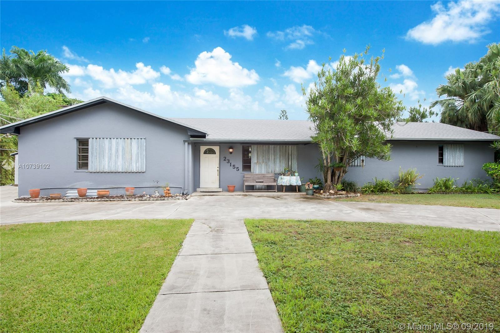 23155 SW 182nd Ave  For Sale A10739102, FL