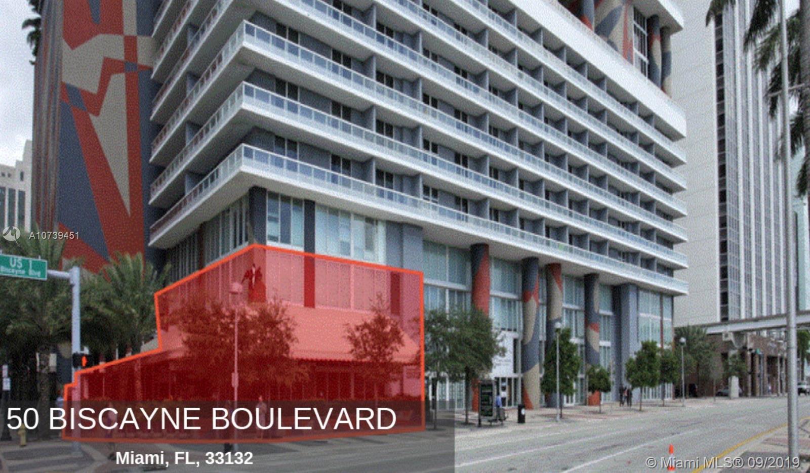 50 Biscayne Blvd CU1-2-3, Miami, FL 33132