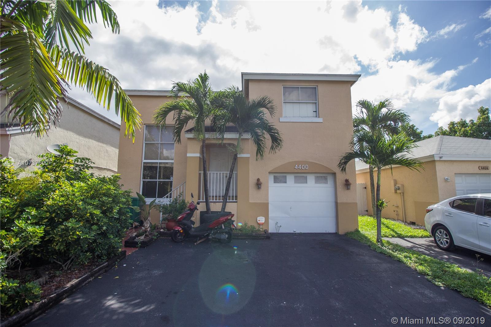 4400 SW 72nd Way  For Sale A10737692, FL