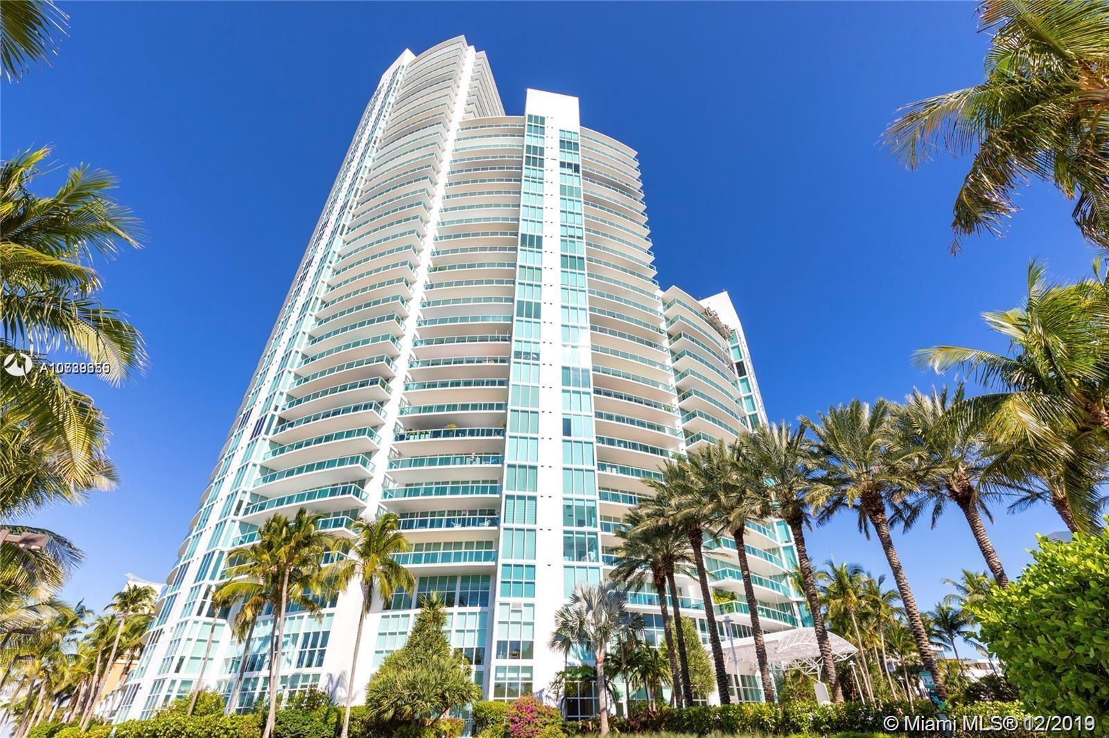 Exquisite South Beach Living now at reach! This stunning 2/2.5 in the coveted Murano At Portofino Tower can now be