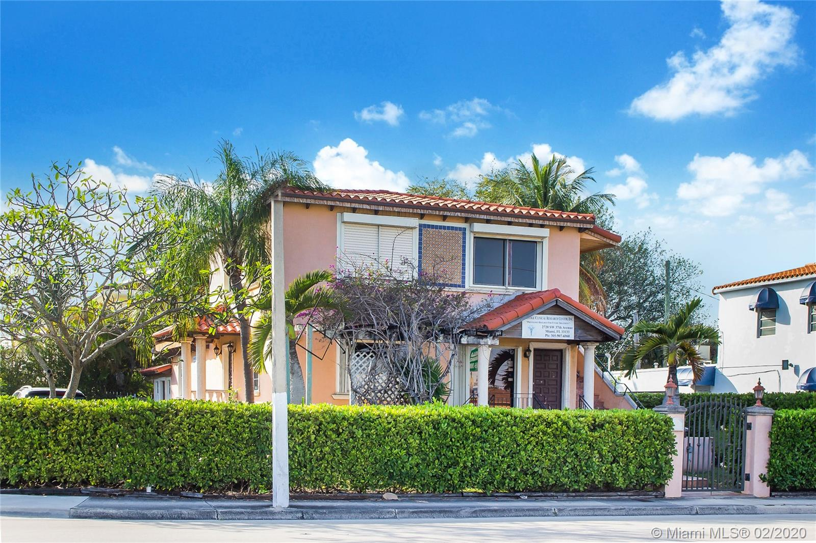 2720 S W 37th Ave  For Sale A10739251, FL