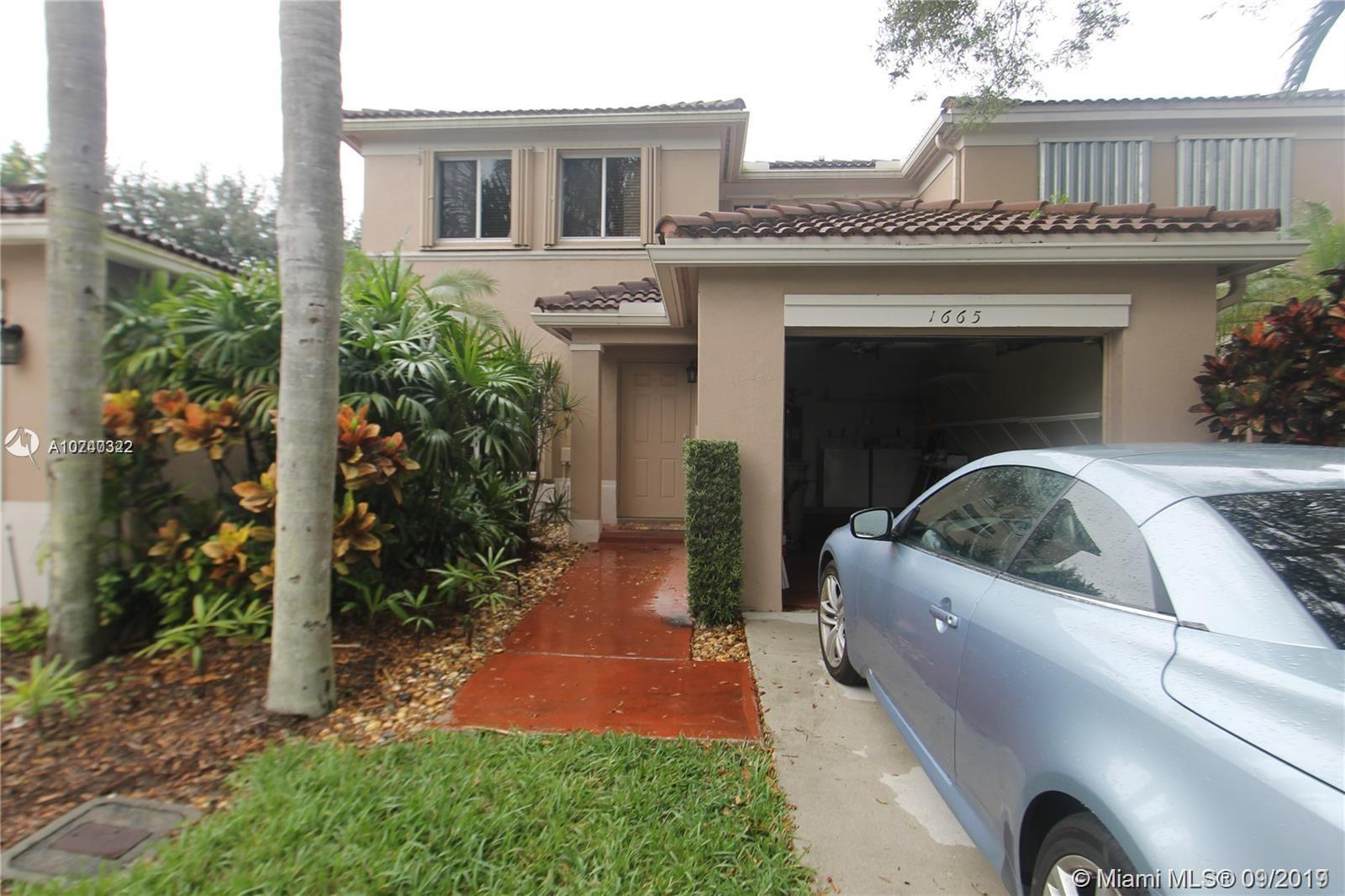 1665 SW 109th Ter #1665 For Sale A10740322, FL