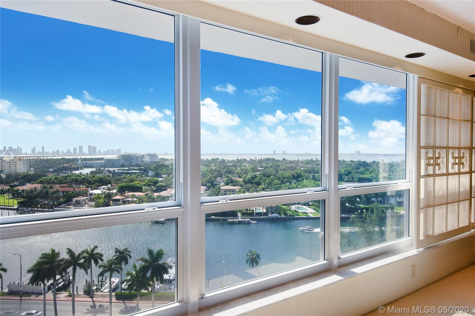 Back on the Market!! Seller Motivated!! Corner unit on the twelve floor at the Iconic Executive ocean front building in Millionaire's Row. Unit offers a superb view from every window. Expansive 1 bedroom 1.5 bathrooms 1470 square feet. Apartment was design in the 80's by designer Al Evans and featured in the Home and Design page of the Miami Herald in 1987. Looking for a new owner to make it their own. Unit can be sold together with a beautiful corner ocean/pool cabana listed at $240,000 please refer to MLS#A10740372. Seller willing to sell unit without the cabana. Building has Fitness Center, Beachfront Pool, 24 hour doorman, security. Phenomenal Location. Washer and Dryer in the unit. Call listing agent for showings.