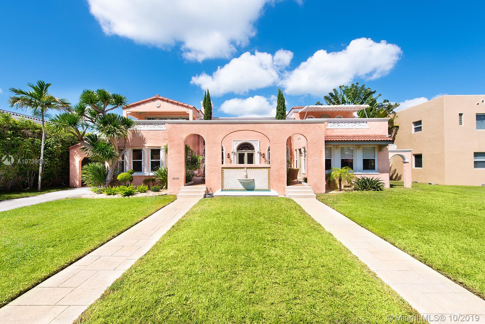 3616  Flamingo Dr  For Sale A10739562, FL