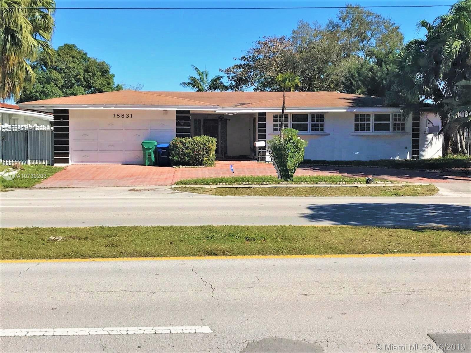 18831 NE 18th Ave  For Sale A10739293, FL