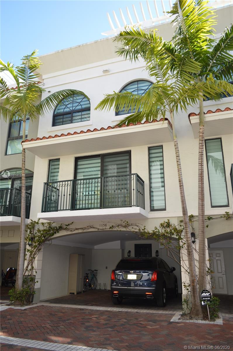 Bay Harbor Townhome totally remodeled, 5 bedrooms 4 full baths, 2,675 ft ,4 levels with elevator.2 patios, top of the line appliances, gym and pool in complex.Furnished and rented month to month.Call LA for showings.