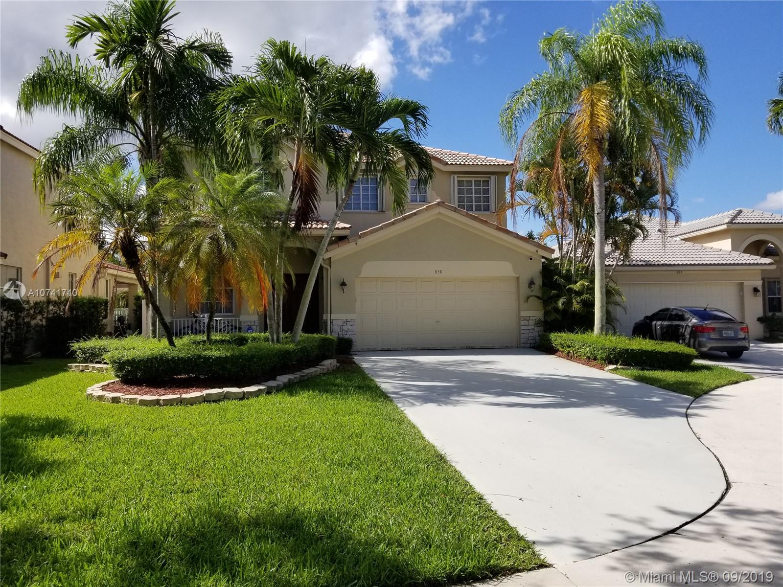 838  Vista Meadows Dr  For Sale A10741740, FL