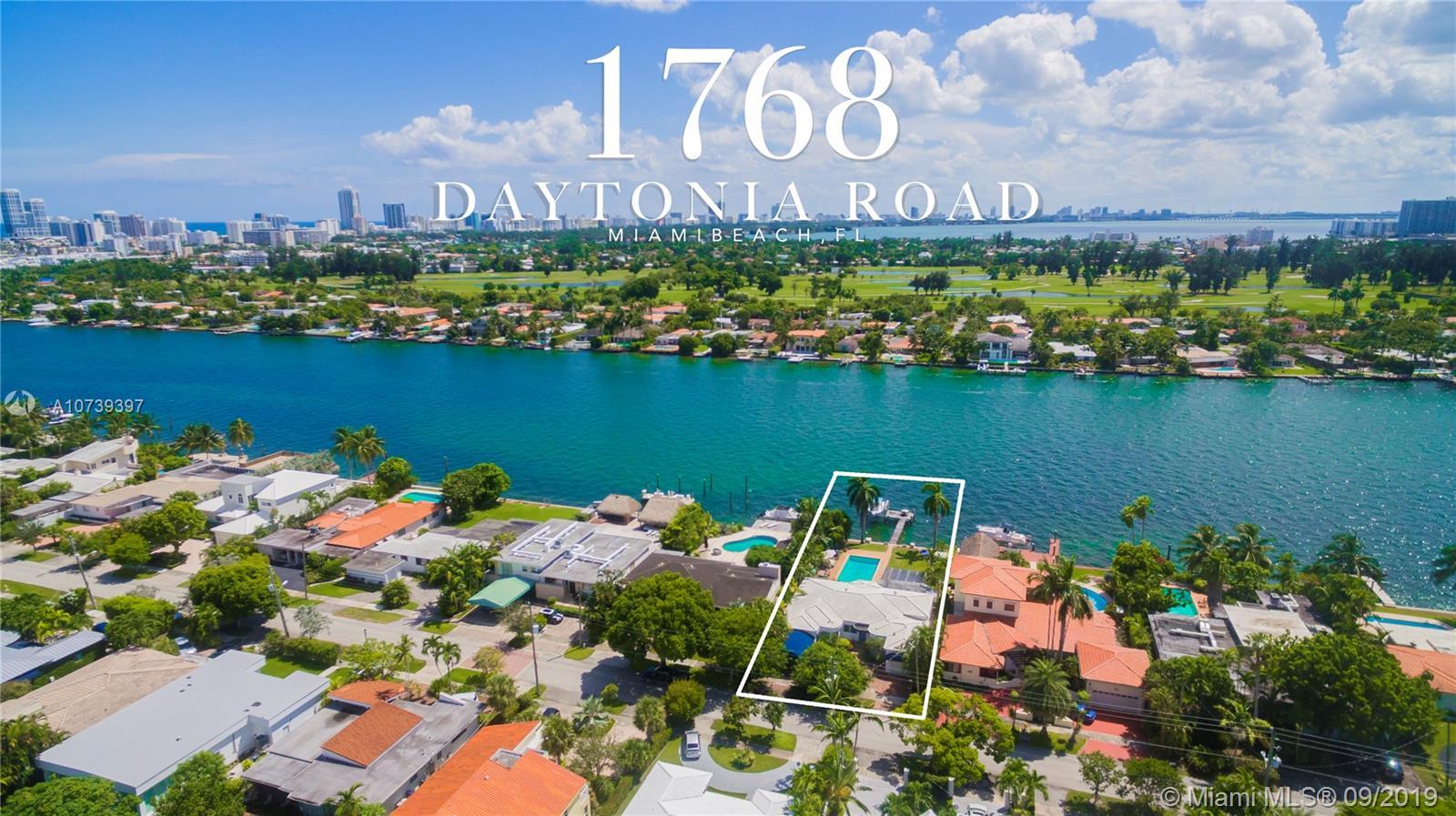 1768  Daytonia Rd  For Sale A10739397, FL