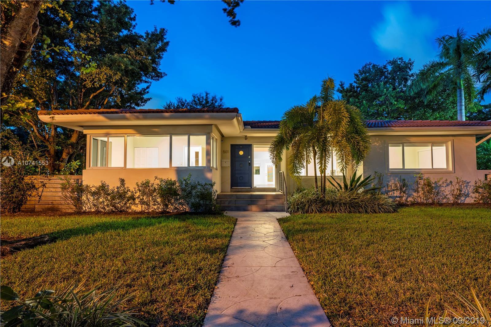 501 NE 96th St  For Sale A10741553, FL
