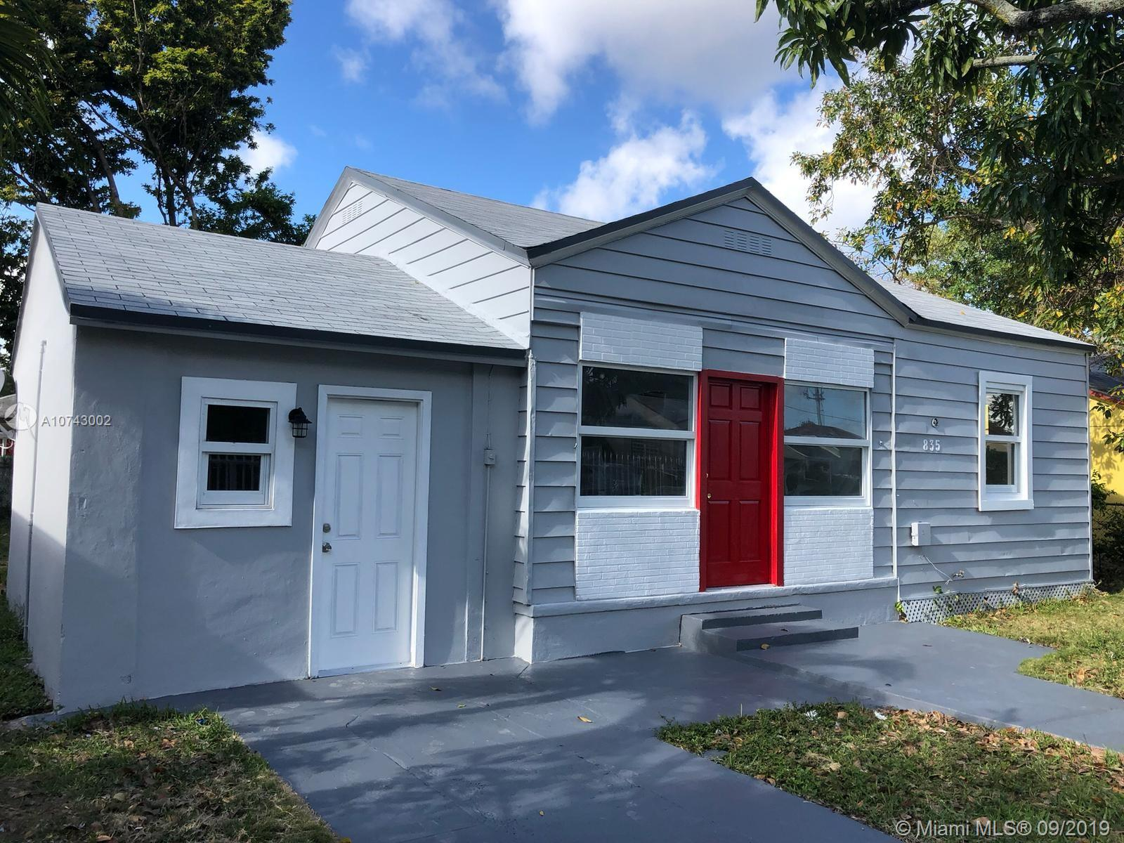 835 NW 63rd St  For Sale A10743002, FL