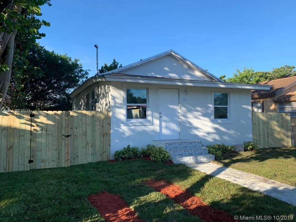 1437 NW 70th St  For Sale A10737023, FL