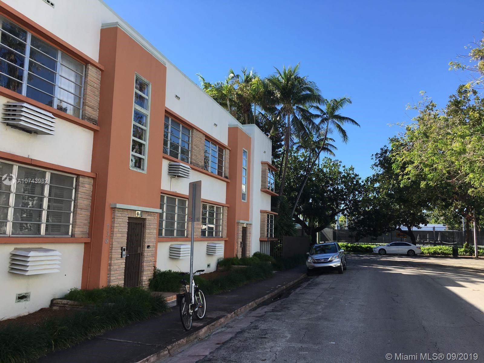 736  12th St #7 For Sale A10743982, FL