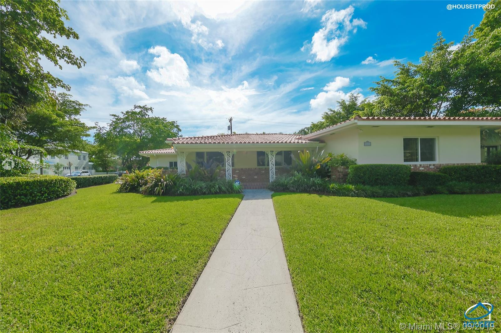 1301  Granada Blvd  For Sale A10743641, FL