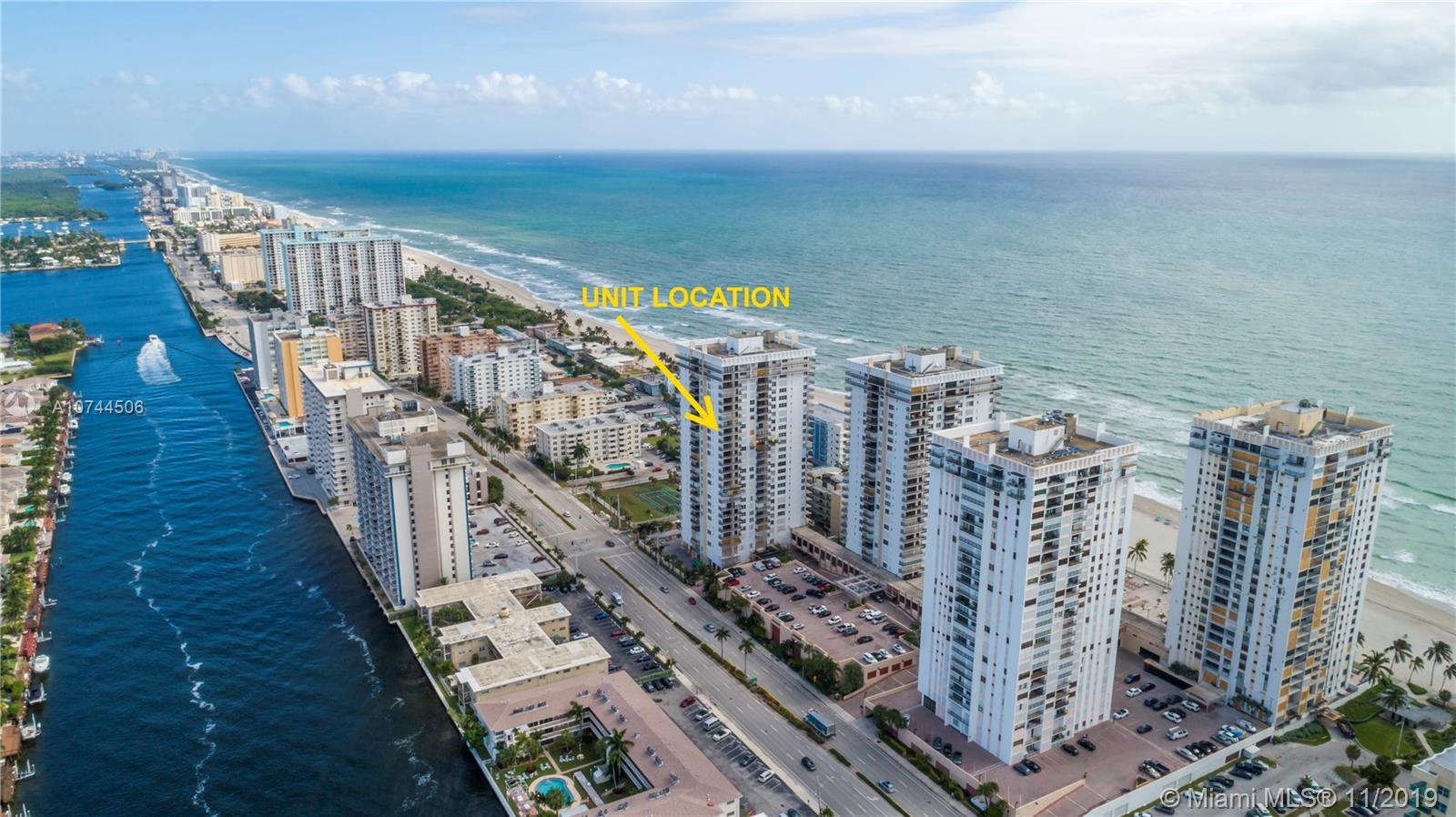 2101 S Ocean Dr #2007 For Sale A10744506, FL