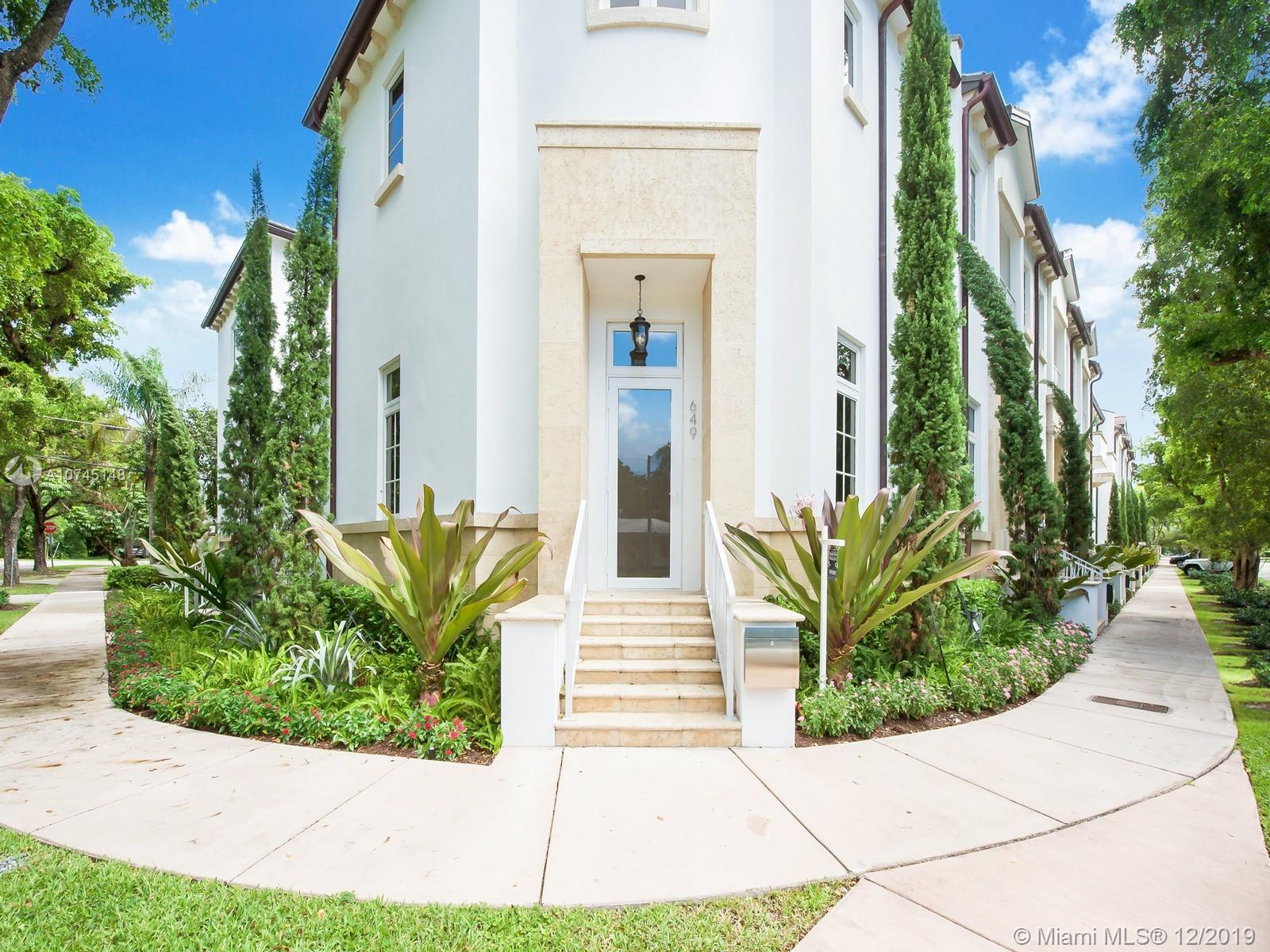 649  Santander Ave #1 For Sale A10745148, FL