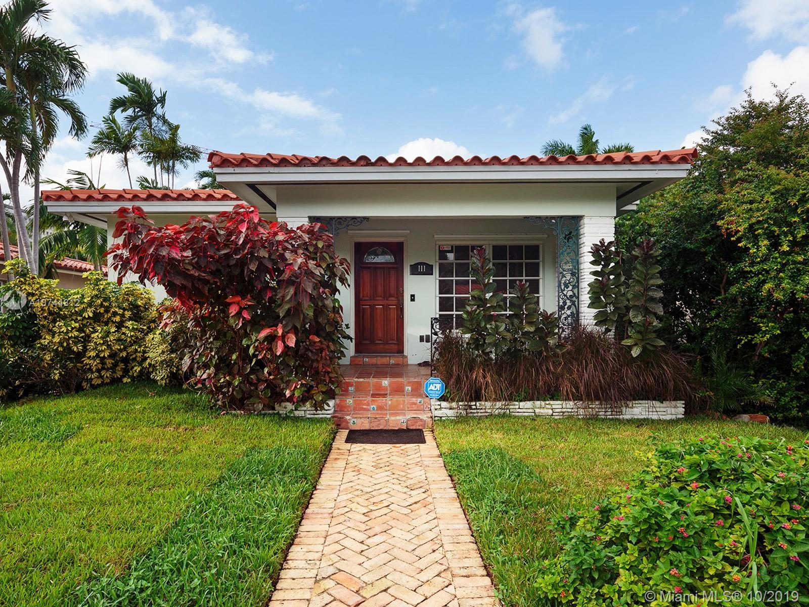 111  Santander Ave  For Sale A10744812, FL