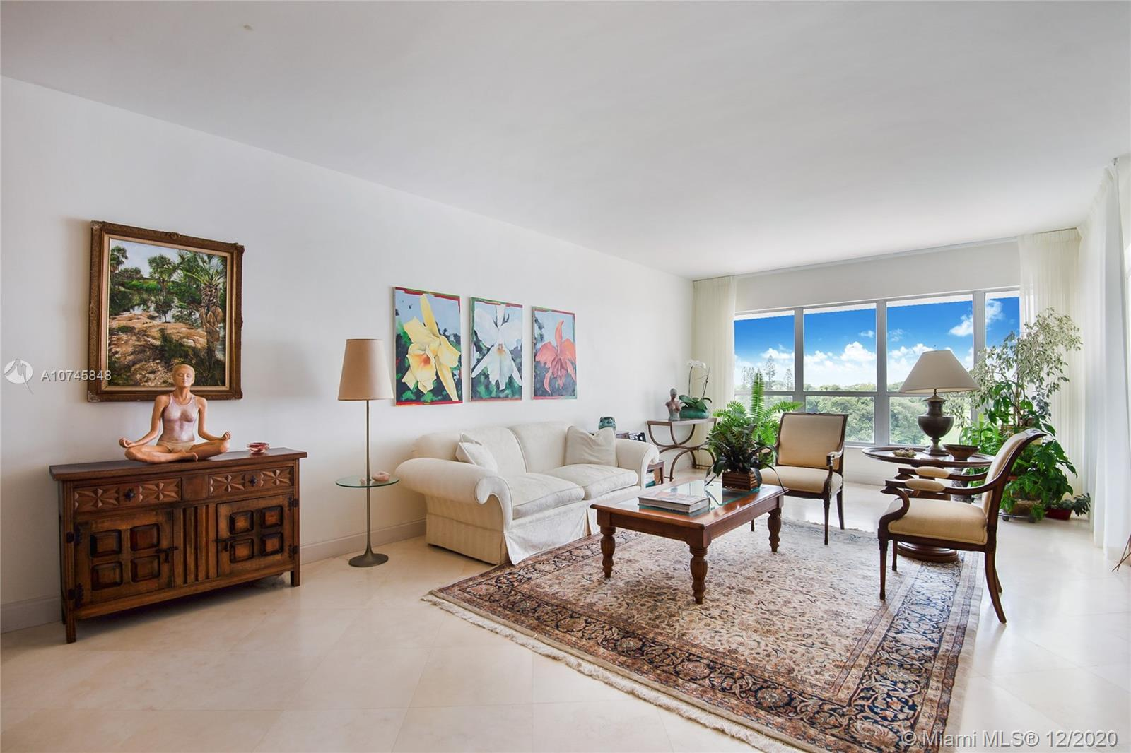 Located on the tip of Bay Harbor Islands, the Blair House is an iconic mid-century modern building with stunning views of Indian Creek, Downtown Miami, and the open/tranquil waters of Biscayne Bay.  This corner unit has one bedroom, one and a half baths (could be converted into a two bedroom), marble floors, formal foyer, and one storage unit w/ assigned parking. INCREDIBLE VIEWS from the sixth floor apartment.  Beautiful and sprawling pool area, gym, and totally remodeled common areas.  A short walk to local restaurants, dog park, Bal Harbour Shops, and the beaches.  A-rated school district and and an amazing lifestyle to call your own.