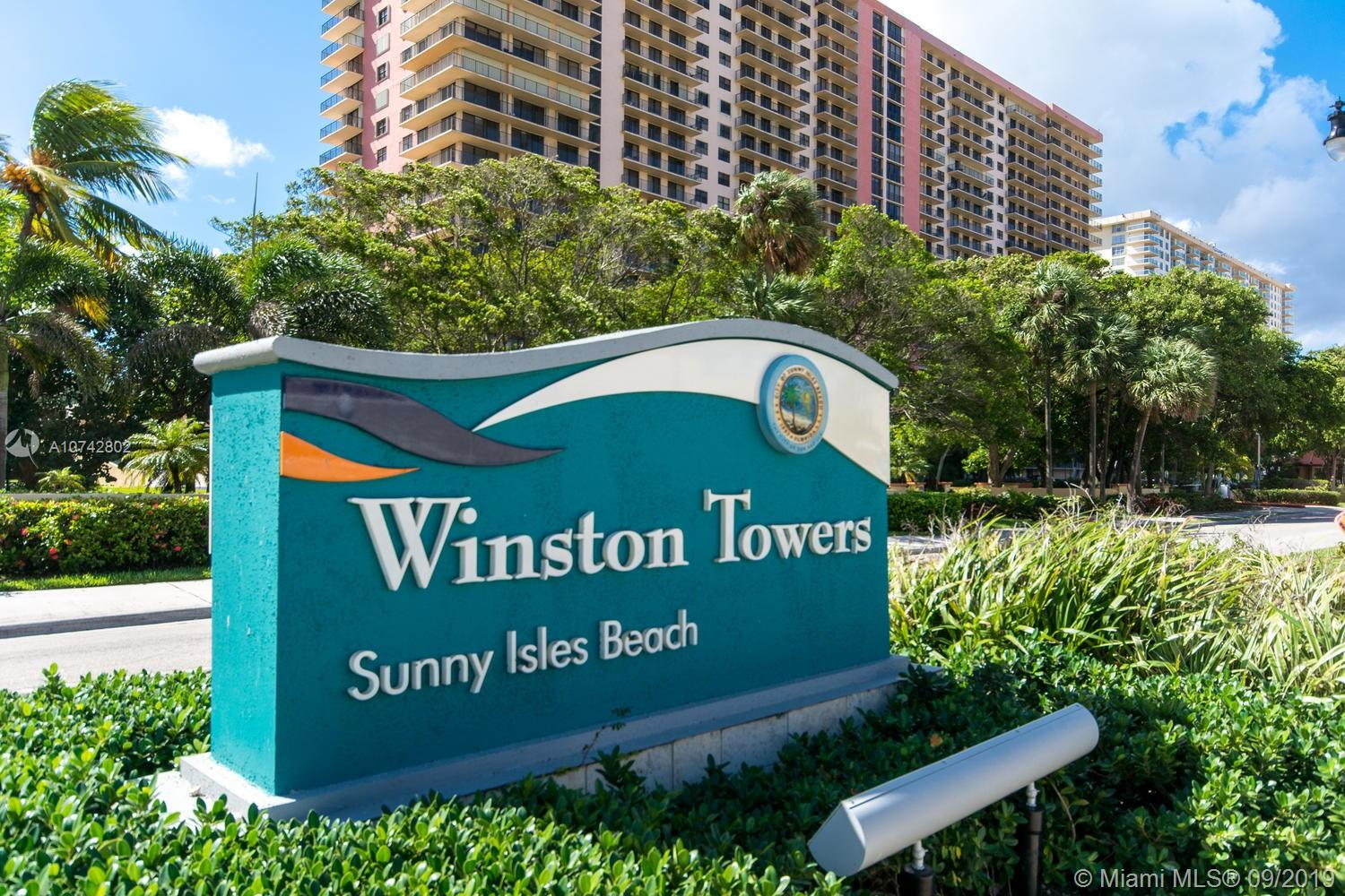 210  174th St #2110 For Sale A10742802, FL