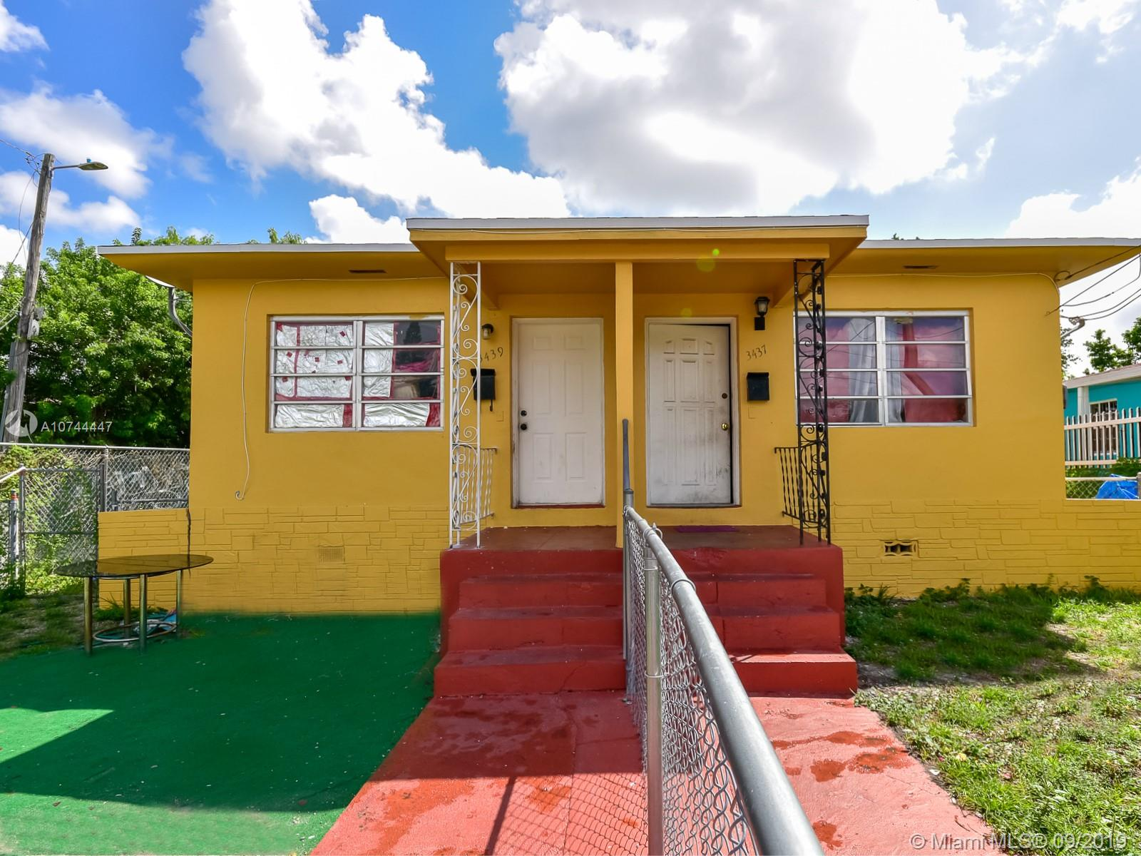 3437 NW 3rd Ave  For Sale A10744447, FL