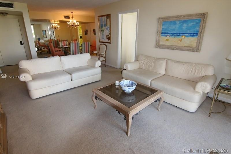Two bedroom two bath unit in Oceanfront complex. The Towers of Key Biscayne offers full amenities.  The original conditioned unit is the LOWEST price in Tower.  Building offers pools, security, gym, tennis ocean access. Priced to sell !!!!