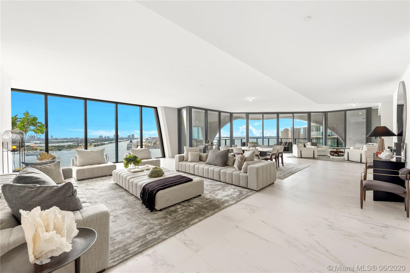 1000  Biscayne Blvd #2401 For Sale A10745152, FL