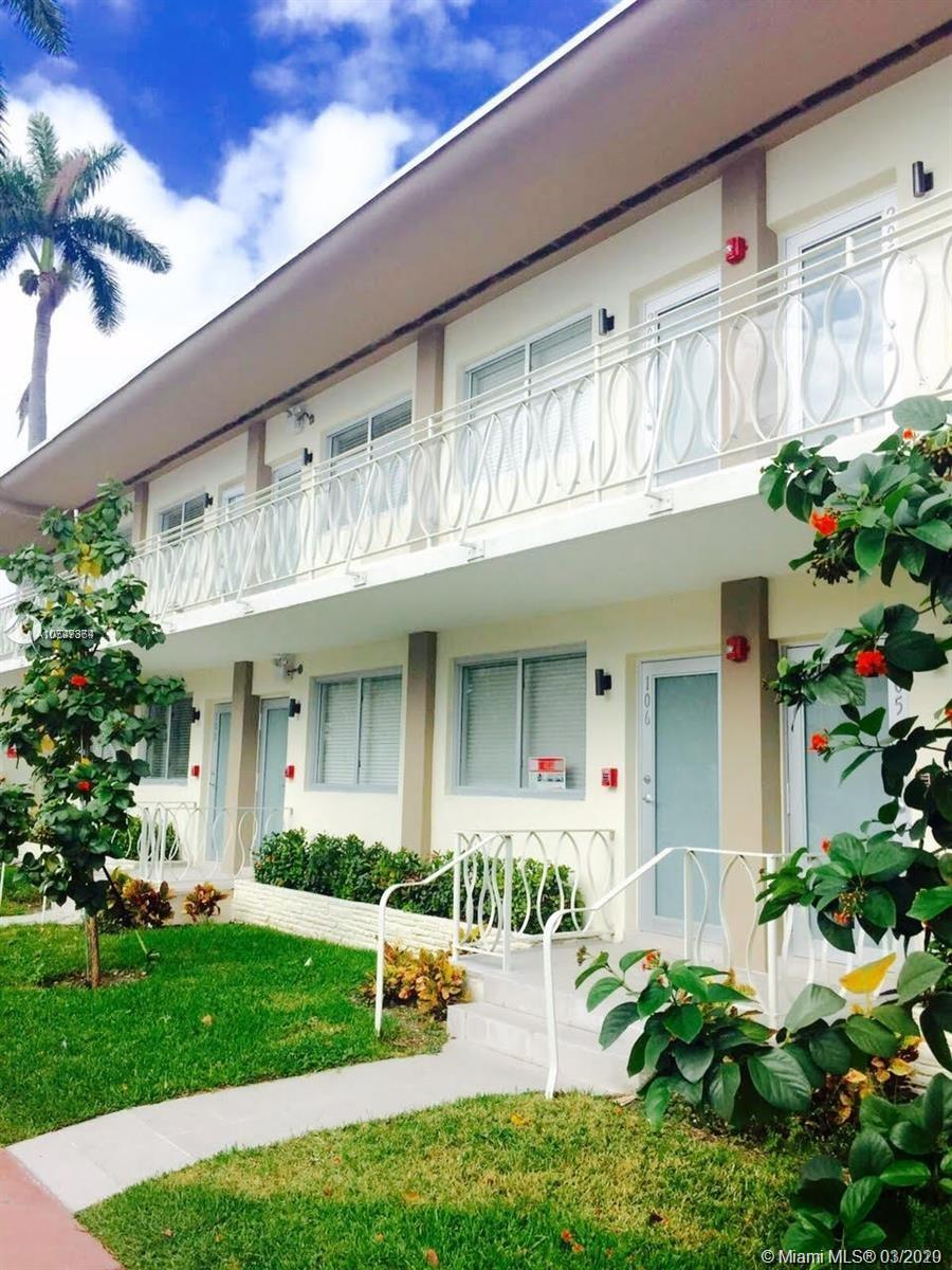1601  Meridian Ave #106 For Sale A10747364, FL