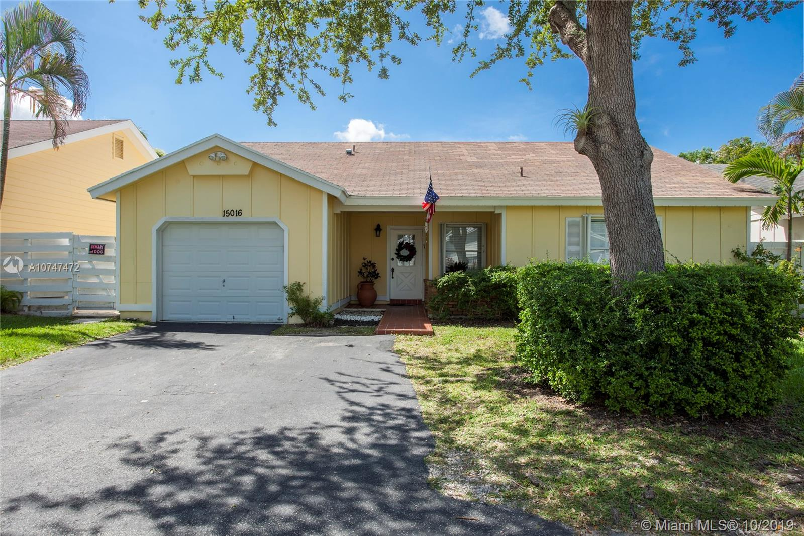 15016 S W 139 Pl  For Sale A10747472, FL