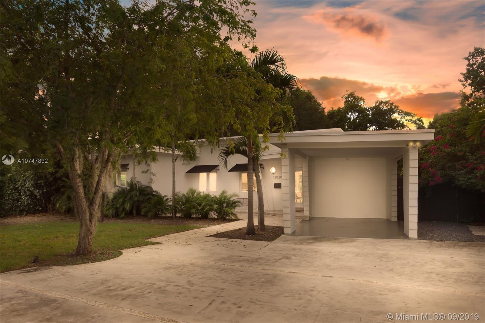 12020 NE 5th Ave  For Sale A10747892, FL