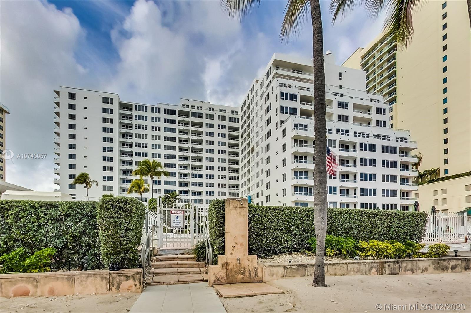 5005  Collins Ave #220 For Sale A10740057, FL
