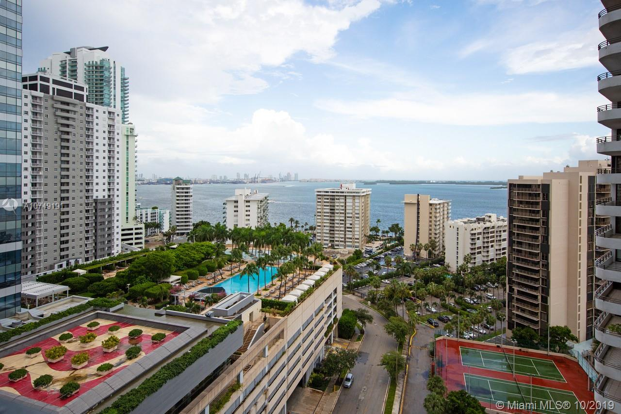 Ready to Move in. Never lived in unit in one of the most desired buildings in the heart of Brickell. Echo Brickell, a boutique high rise building was designed by Carlos Ott. Incredible inter coastal views. 