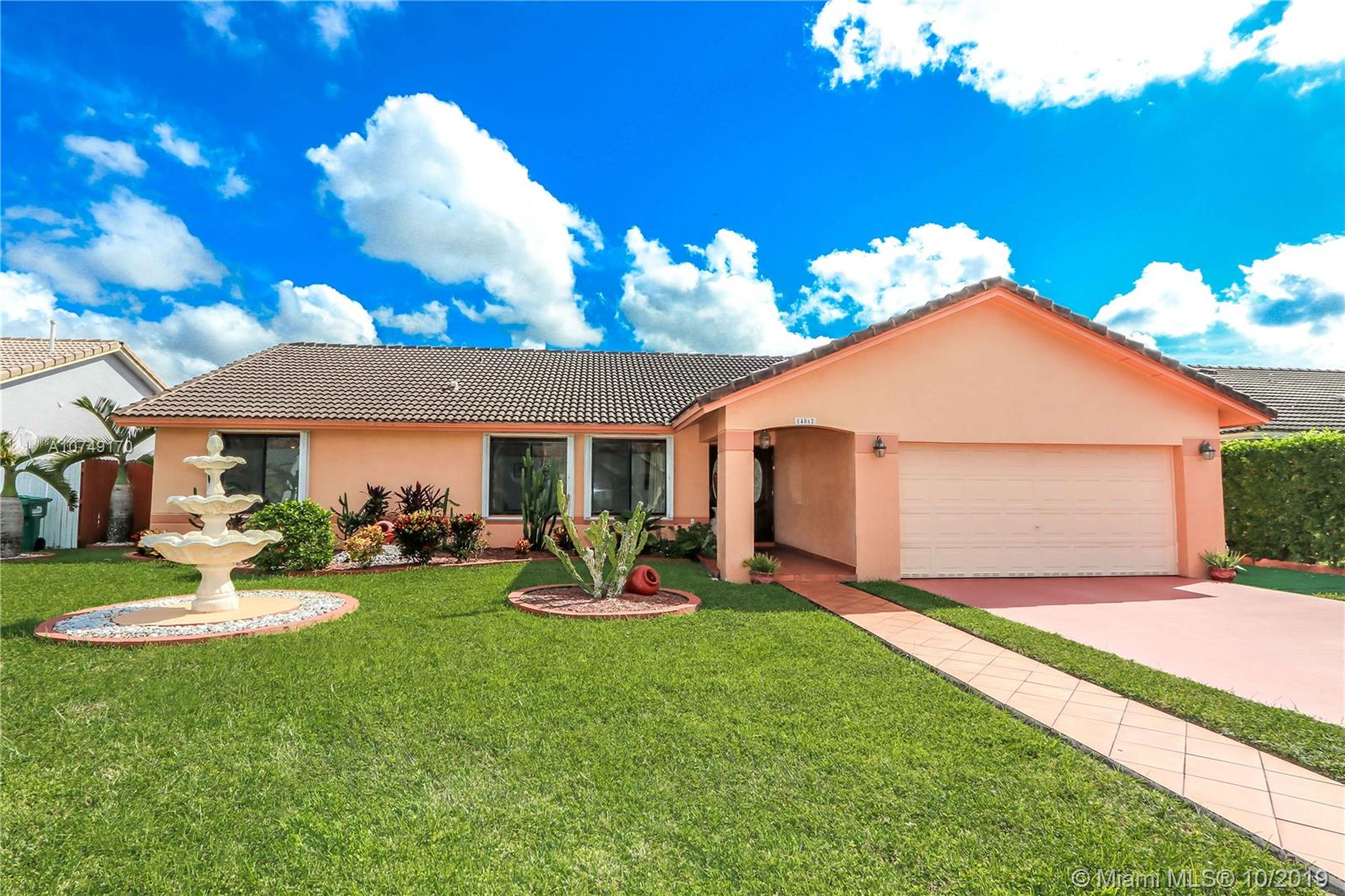 14862 SW 169th Ln  For Sale A10749170, FL