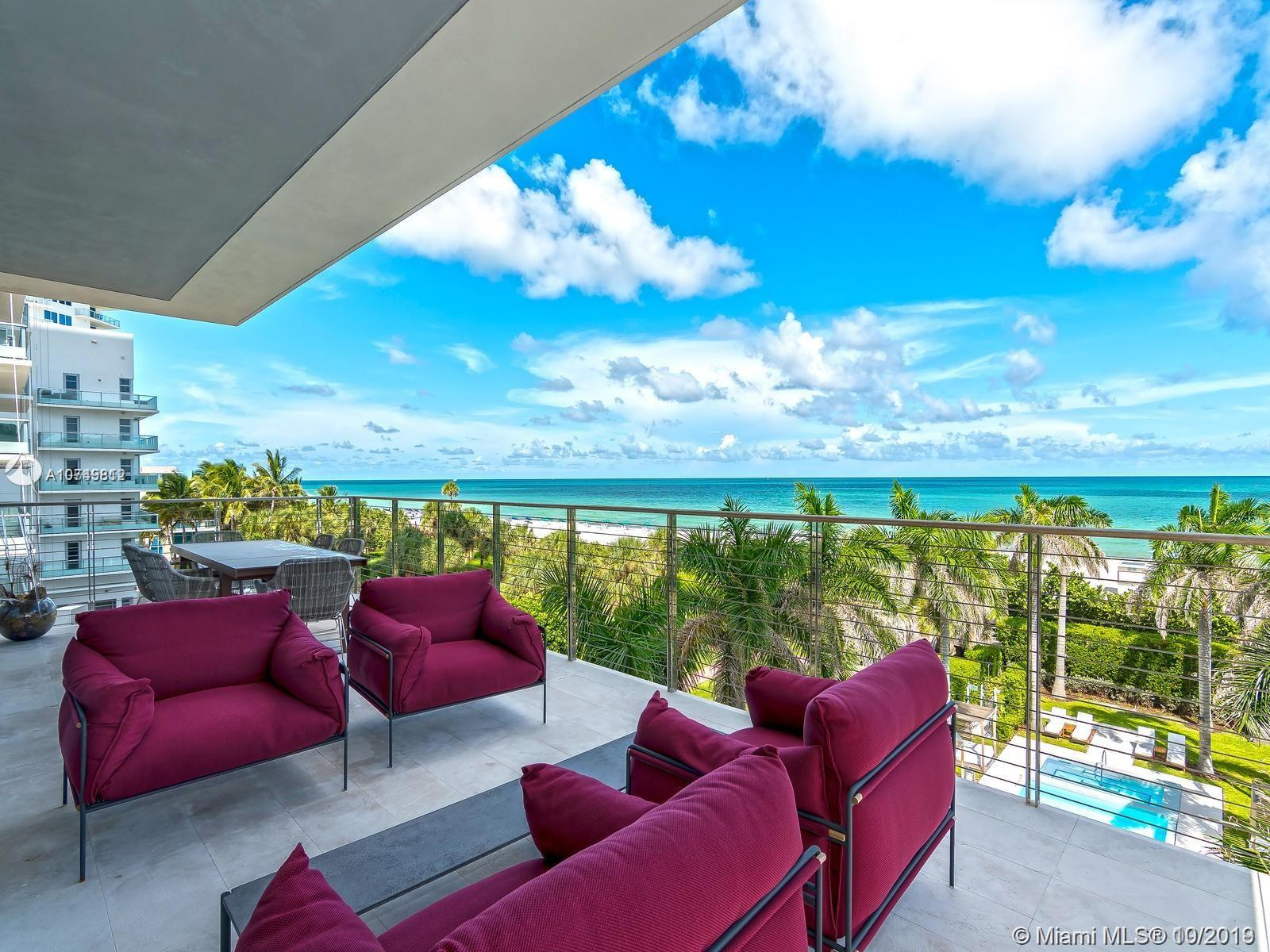 3651  Collins Ave #400/500 For Sale A10749812, FL