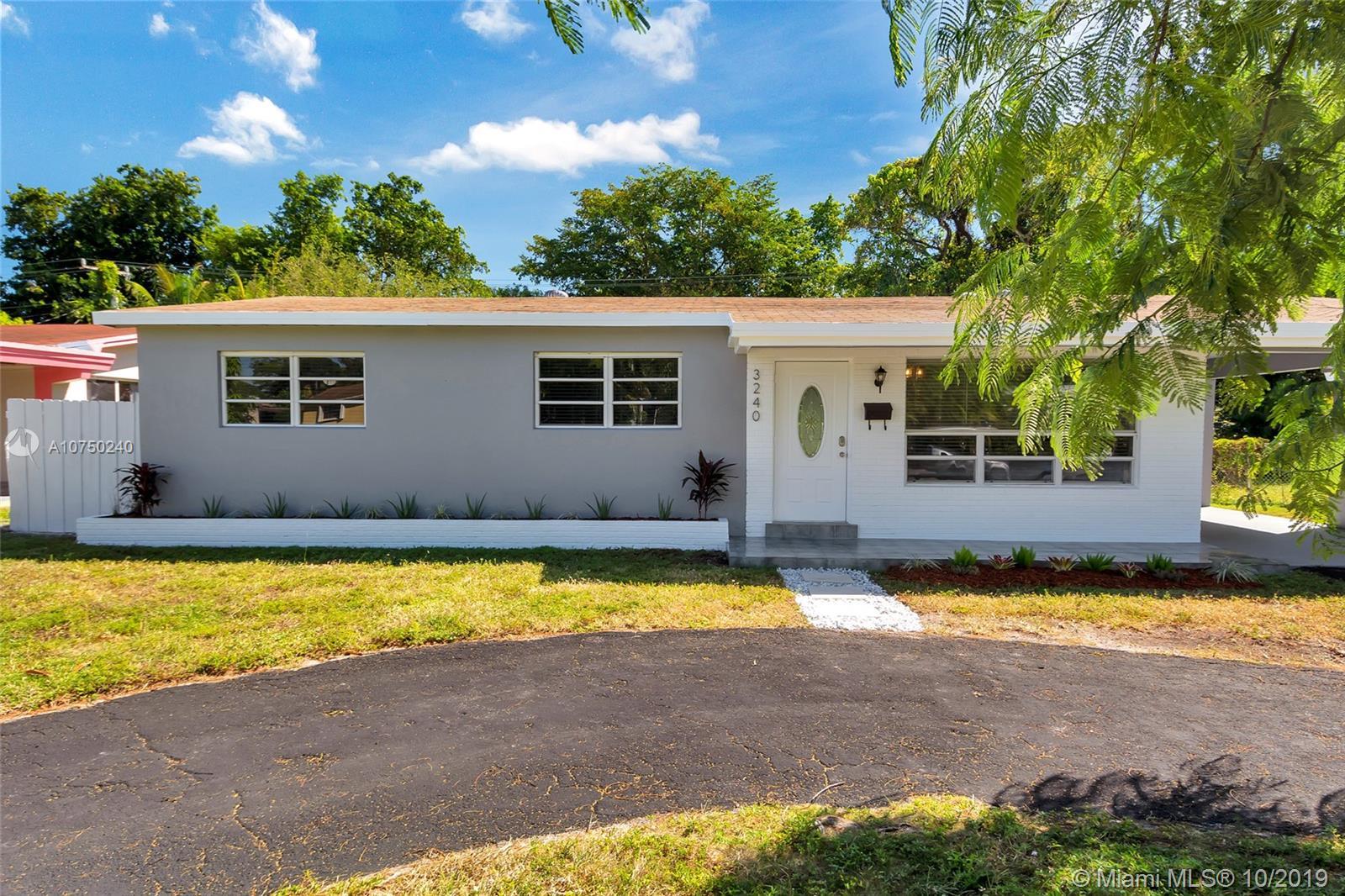 3240  Jackson Blvd  For Sale A10750240, FL