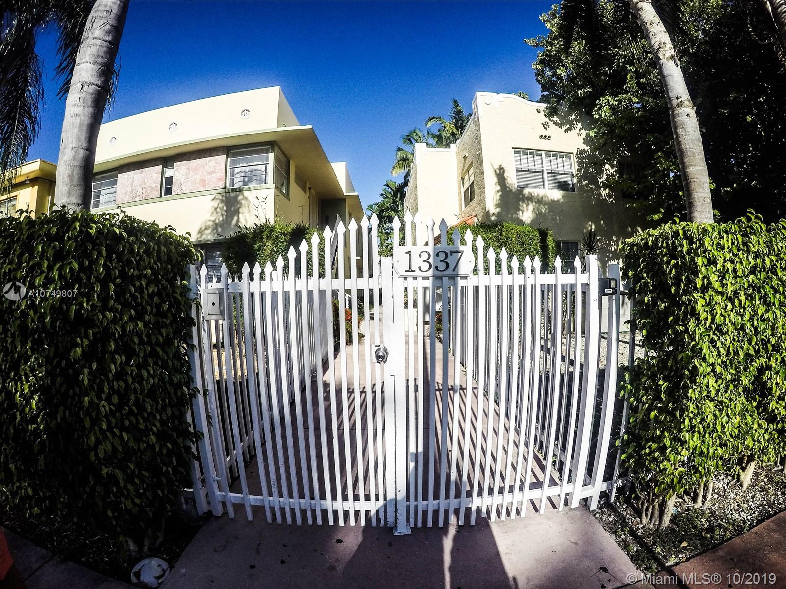 1337  Euclid Ave #204 For Sale A10749807, FL